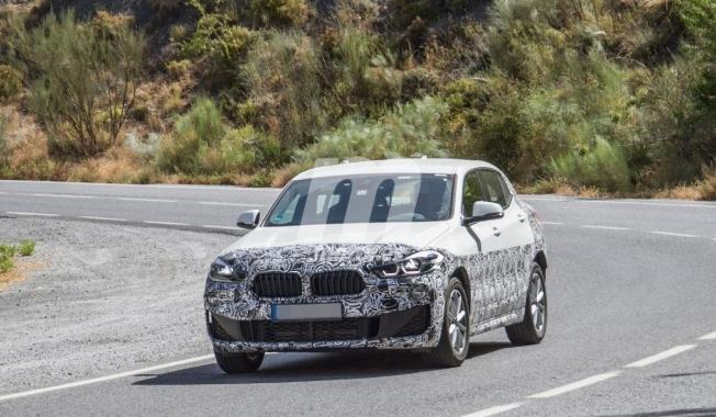 BMW X2 2021 - foto espía