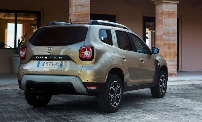 Dacia Duster - posterior
