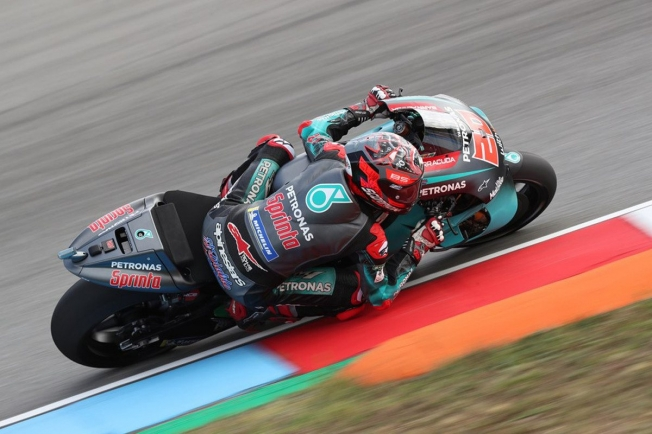 Fabio Quartararo lidera el test de MotoGP en Brno