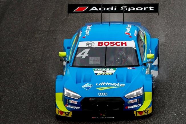 La lluvia altera la sesión libre del DTM en Brands Hatch