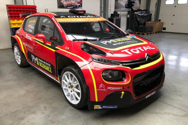Mads Ostberg, gran novedad en WRC2 Pro para Alemania