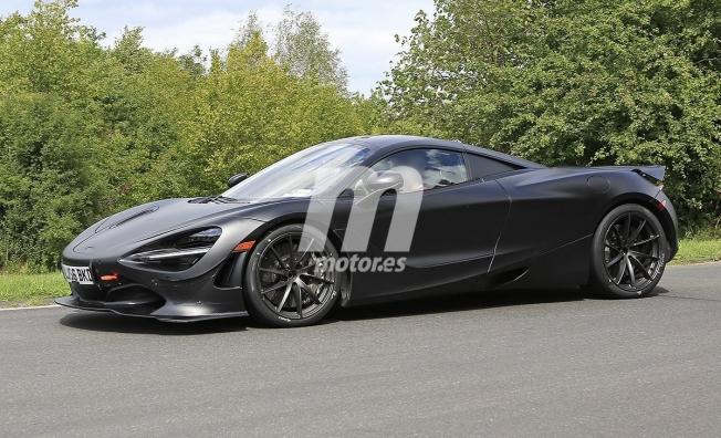 McLaren 750LT 2020 - foto espía