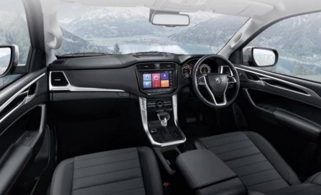 MG Extender - interior