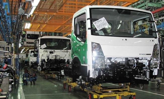 Producción de camiones Nissan en Ávila