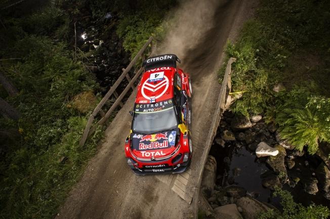 Ott Tänak retoma el liderato en el Rally de Finlandia