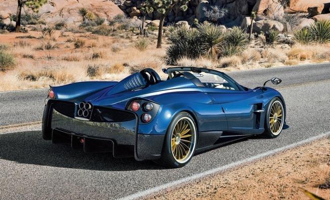 Pagani Huayra Roadster - posterior