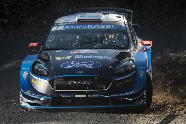 Pontus Tidemand pilotará un Ford Fiesta WRC en Turquía
