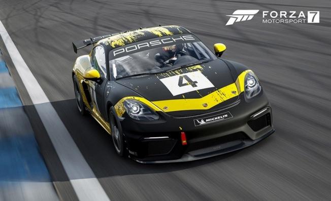 Porsche 718 Cayman GT4 Clubsport en Forza Motorsport 7
