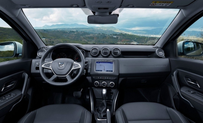 Dacia Duster - interior