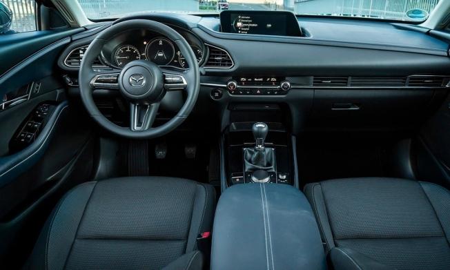 Mazda CX-30 - interior