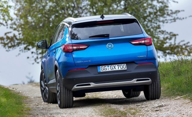 Opel Grandland X - posterior