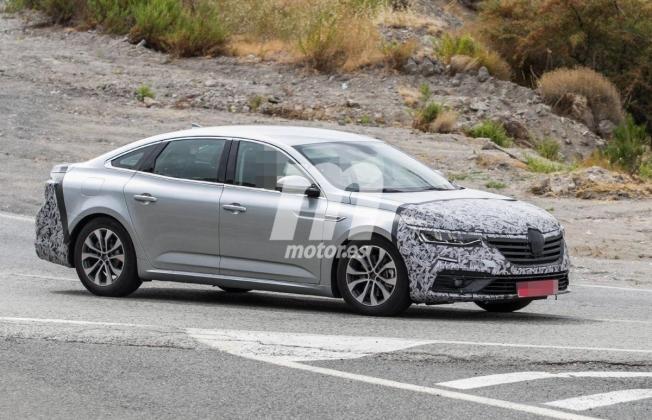 Renault Talismán 2020 - foto espía