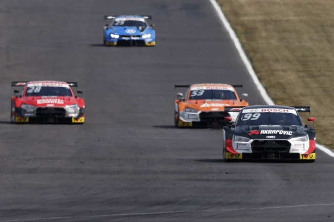 René Rast gana la carrera 500 del DTM, Audi asegura el título