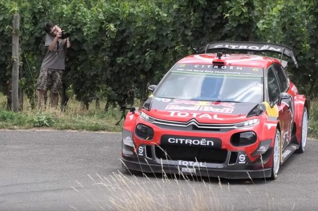 Sébastien Ogier prepara el Rally de Alemania bajo la lluvia