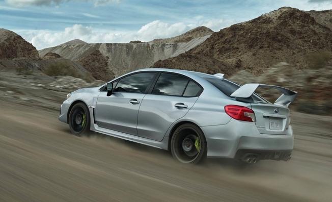 Subaru WRX STI - posterior