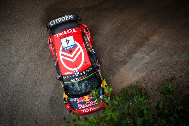Thierry Neuville es el primer líder del Rally de Finlandia