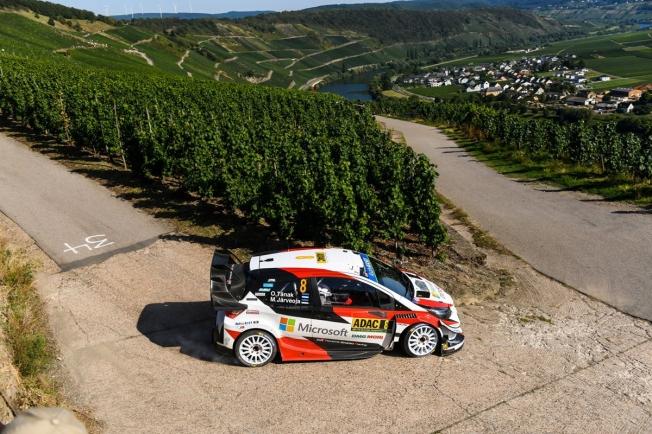 Victoria de Ott Tänak y triplete de Toyota en el Rally de Alemania