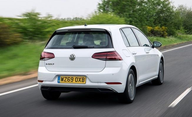 Volkswagen e-Golf - posterior