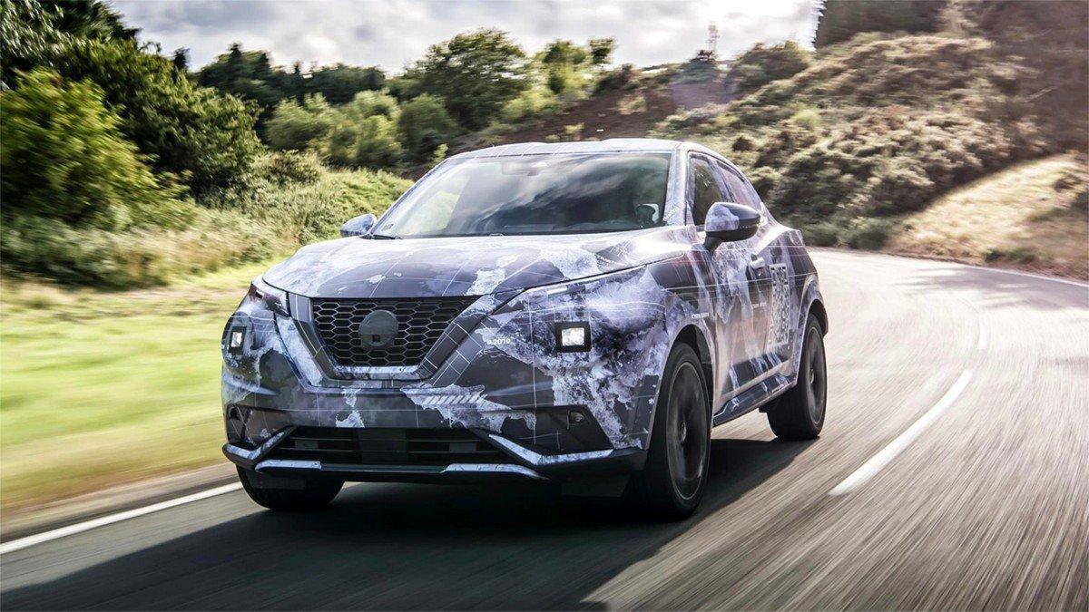 Nissan muestra su Juke camuflado a plena luz del día y con fotos profesionales