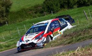 Ott Tänak y Thierry Neuville arrancan el Rally de Alemania con fuerza