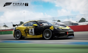 El Porsche 718 Cayman GT4 Clubsport irrumpe en Forza Motorsport 7