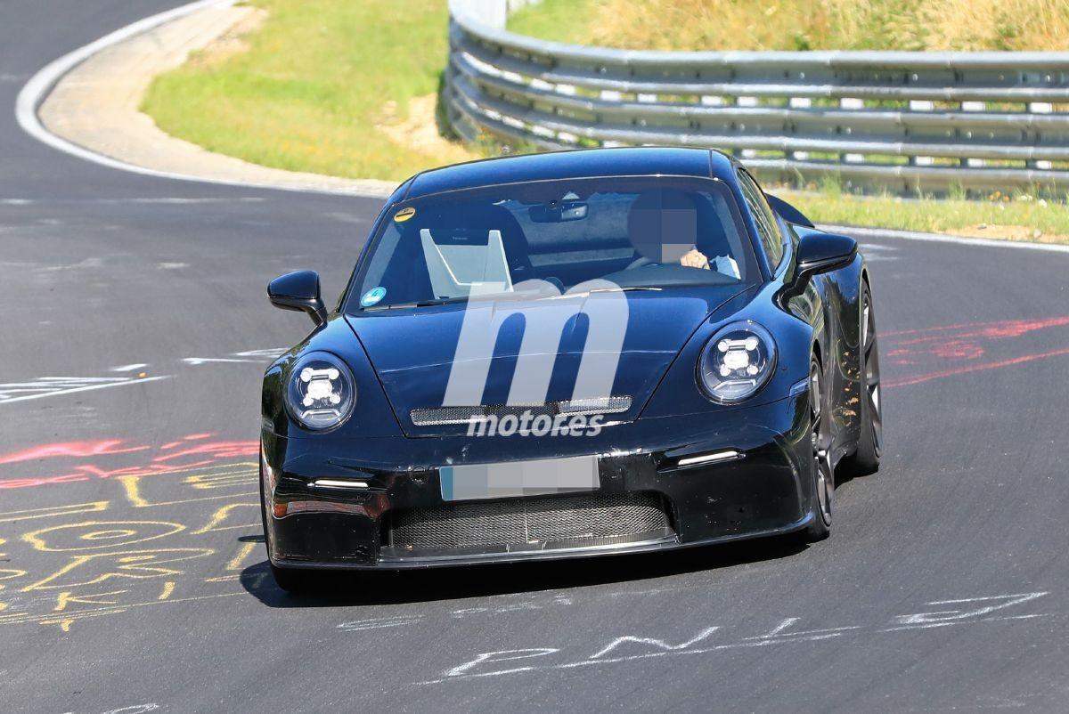 Primeras fotos espía del nuevo Porsche 911 GT3 Touring Package