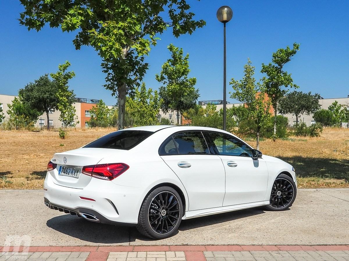 Prueba Mercedes Clase A Sedán 2019 Elegancia En Dimensiones Compactas Motor Es