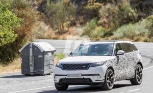 Primeras fotos espía del nuevo Range Rover Velar híbrido enchufable
