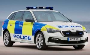 El Skoda Scala se convierte en coche de policía en el Reino Unido