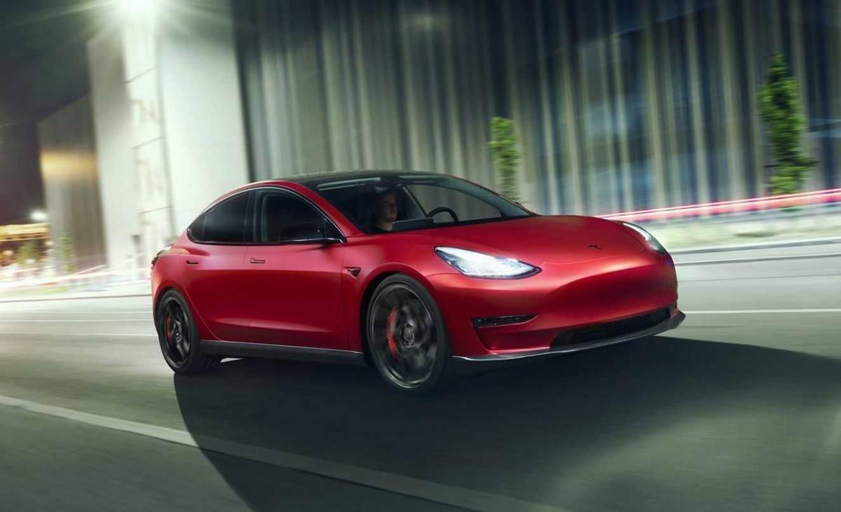 El Tesla Model 3 estrena nueva imagen gracias a Novitec