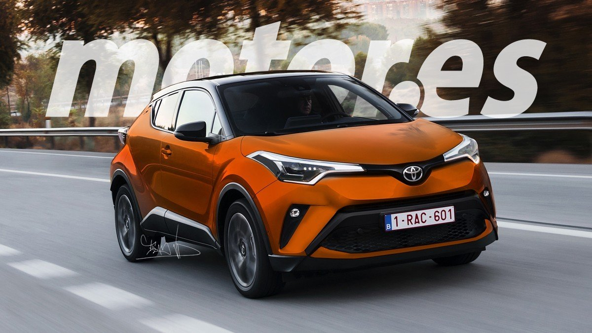 2020 Toyota C-HR Facelift 10