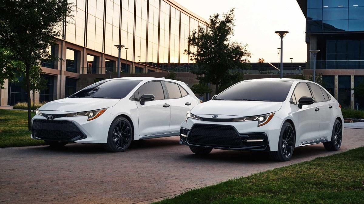 El Toyota Corolla estrena versiones Nightshade Edition en América