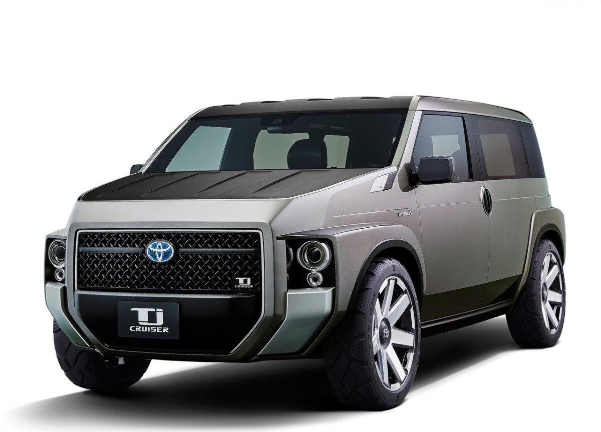 El extraño Toyota TJ Cruiser tendrá una versión de producción en 2020
