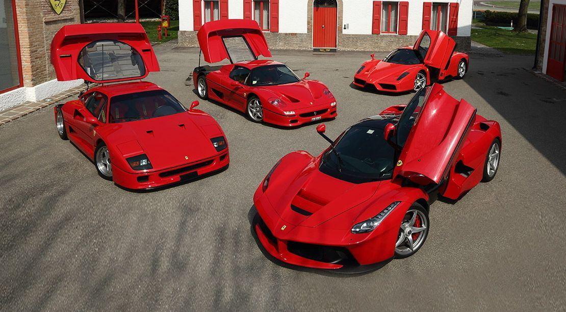 Evolución de los modelos estandarte de Ferrari de los últimos 60 años [vídeo]