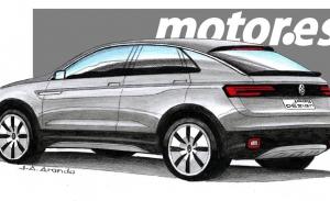 Adelantamos el diseño del futuro Volkswagen T-Cross Coupé, el nuevo SUV que prepara la firma