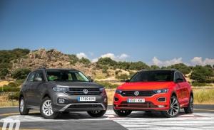 Comparativa VW T-Cross vs VW T-ROC, juntos pero no revueltos (Con vídeo)
