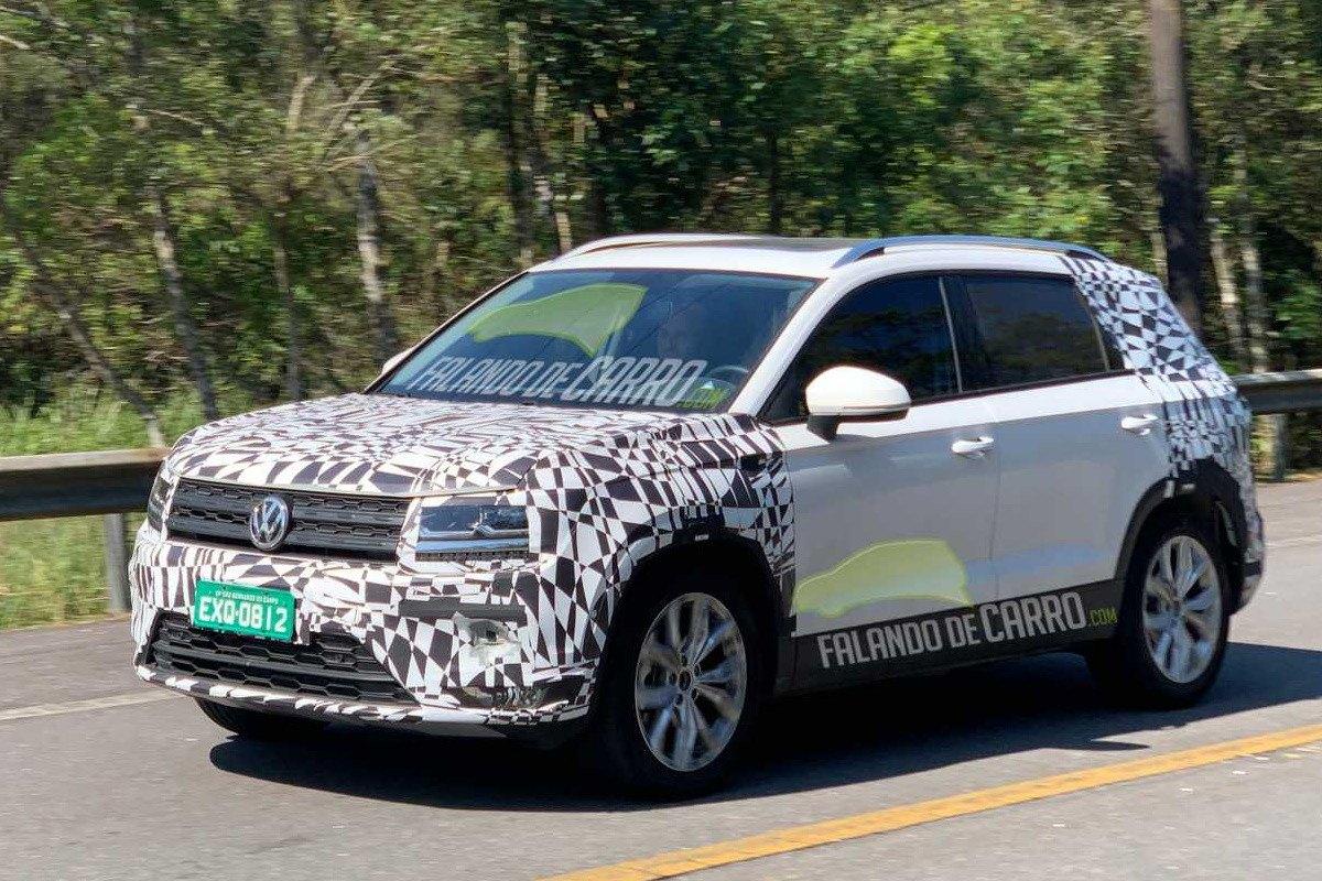 El Volkswagen Tarek 2020 ultima sus pruebas antes de entrar en producción
