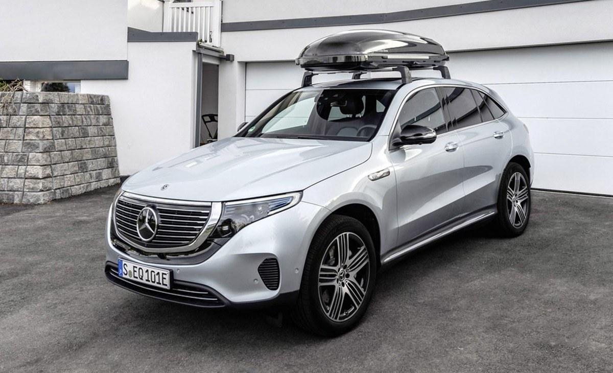 El nuevo Mercedes EQC estrena gama de accesorios oficiales