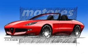Alfa Romeo Spider Duetto, ansiando el regreso del descapotable italiano
