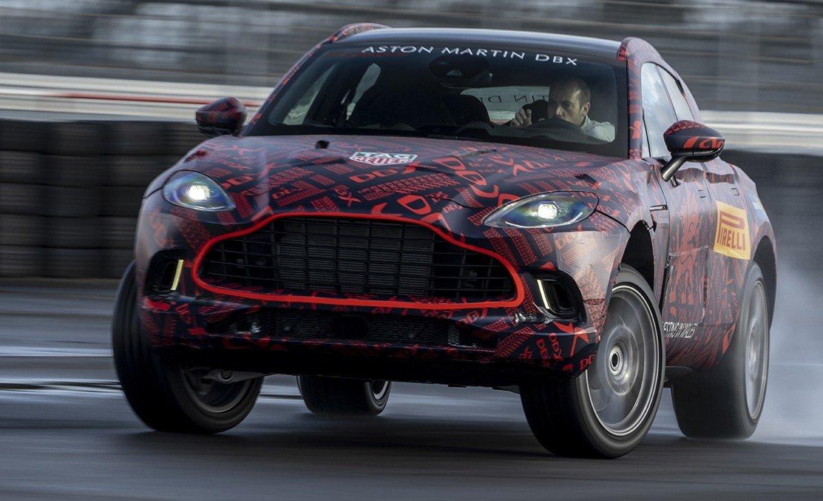 El Aston Martin DBX se enfrenta a la fase final de su desarrollo