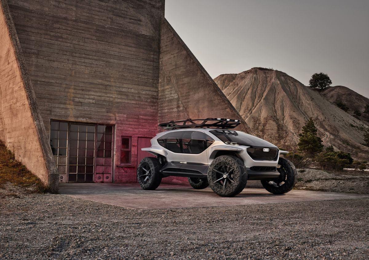 Audi AI:TRAIL quattro: el SUV más futurista con conducción autónoma de nivel 4