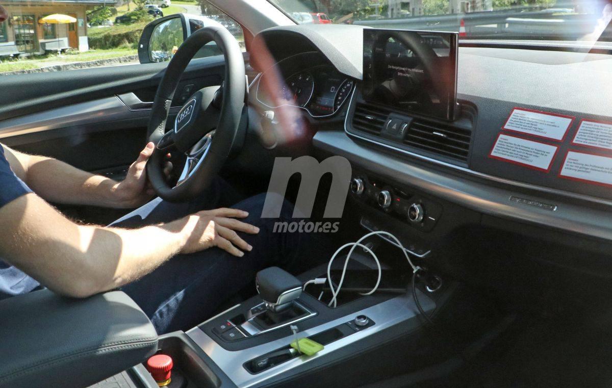 El futuro Audi Q5 facelift nos muestra su interior por primera vez