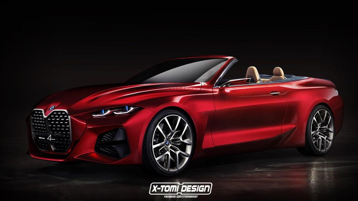 El nuevo BMW Concept 4 también resulta atractivo en variante cabrio