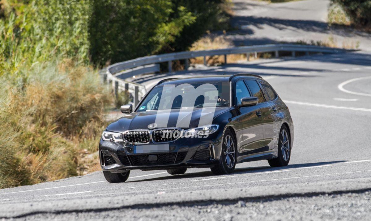El nuevo BMW M340i xDrive Touring 2020, pillado durante sus pruebas en unas fotos espía