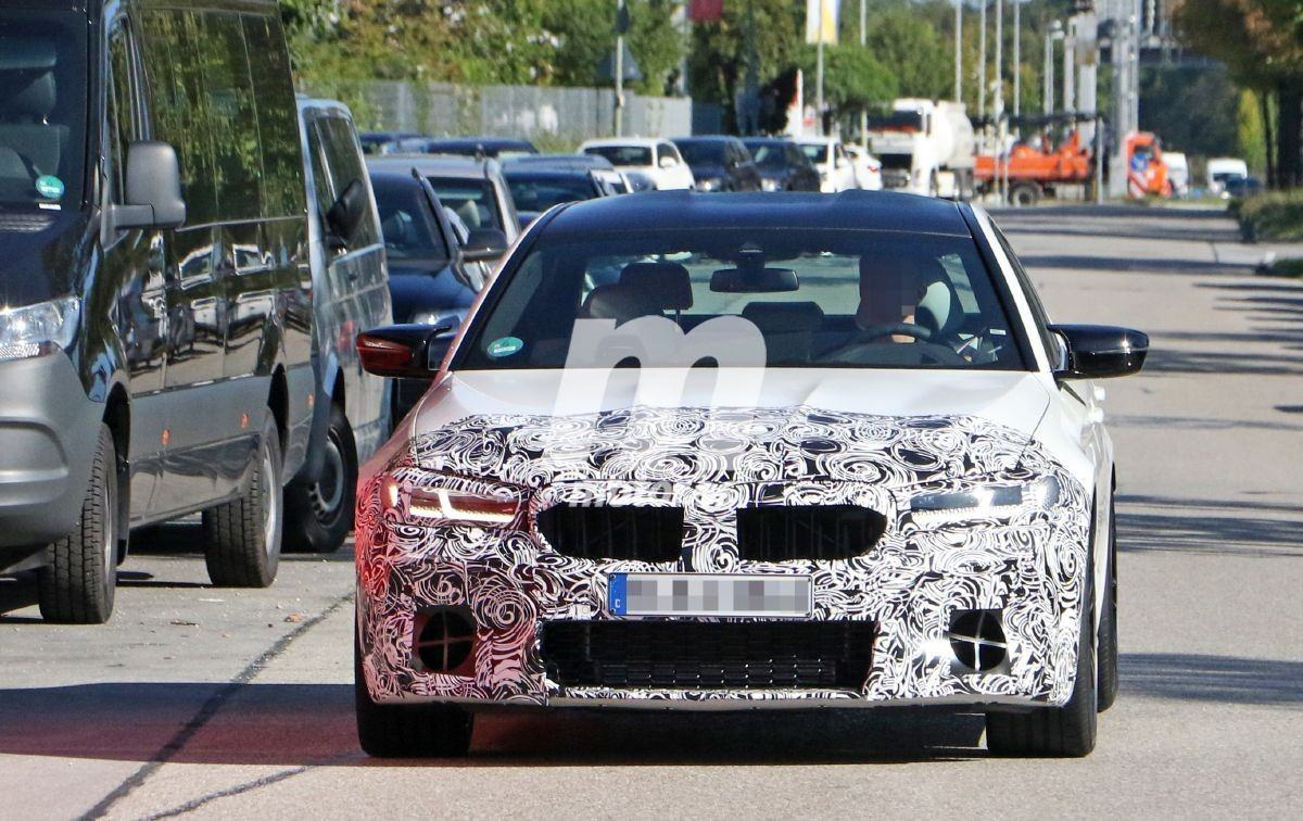 El BMW M5 2021 luce nuevo diseño frontal en sus últimas fotos espía
