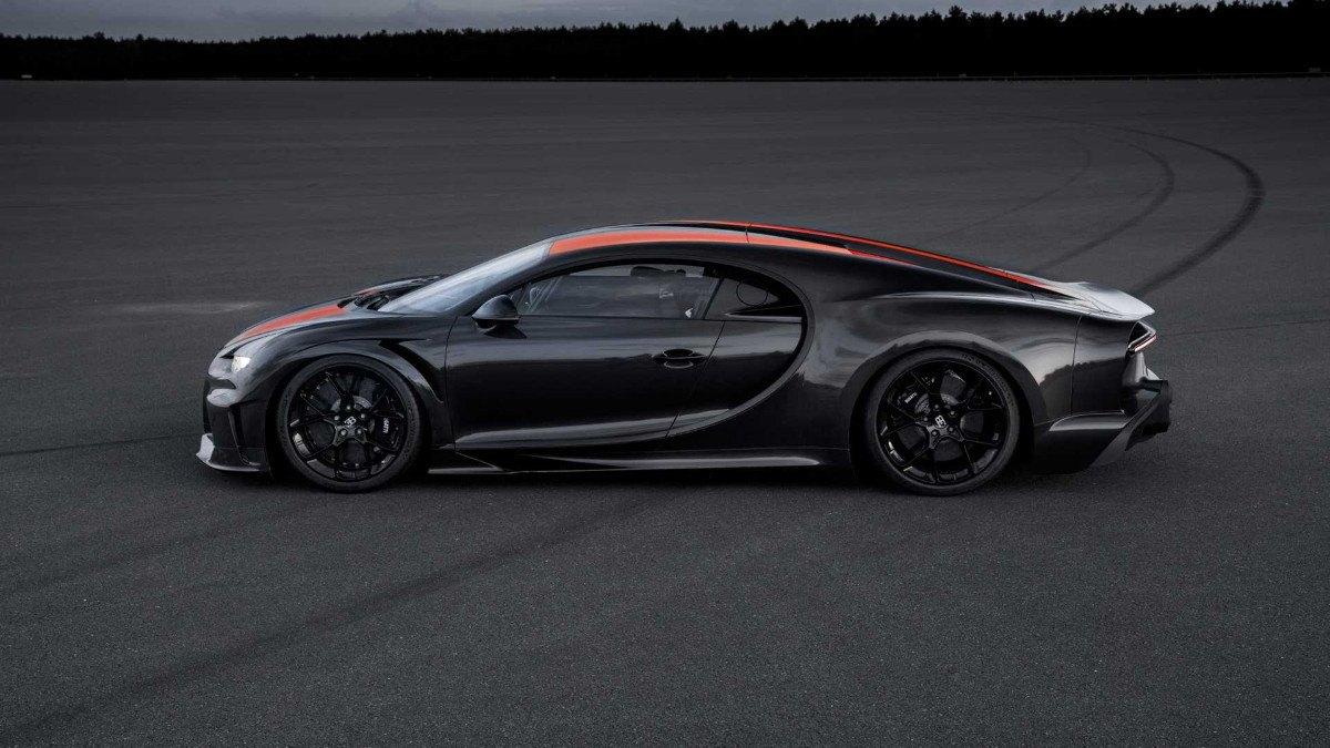 Bugatti confirma que habrá versión del producción del Chiron Longtail