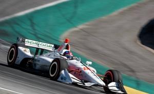Colton Herta logra en Laguna Seca su segunda pole ante Dixon y Rossi