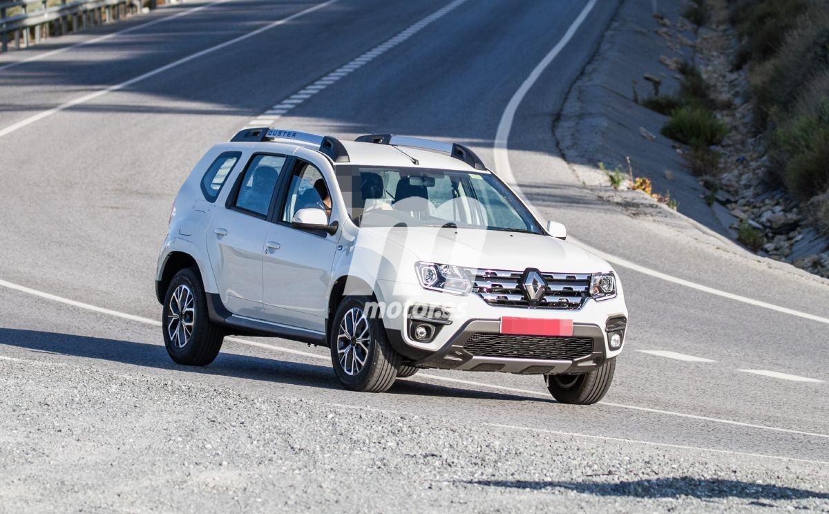 El nuevo Dacia Duster vendido en la India como Renault se deja ver en España