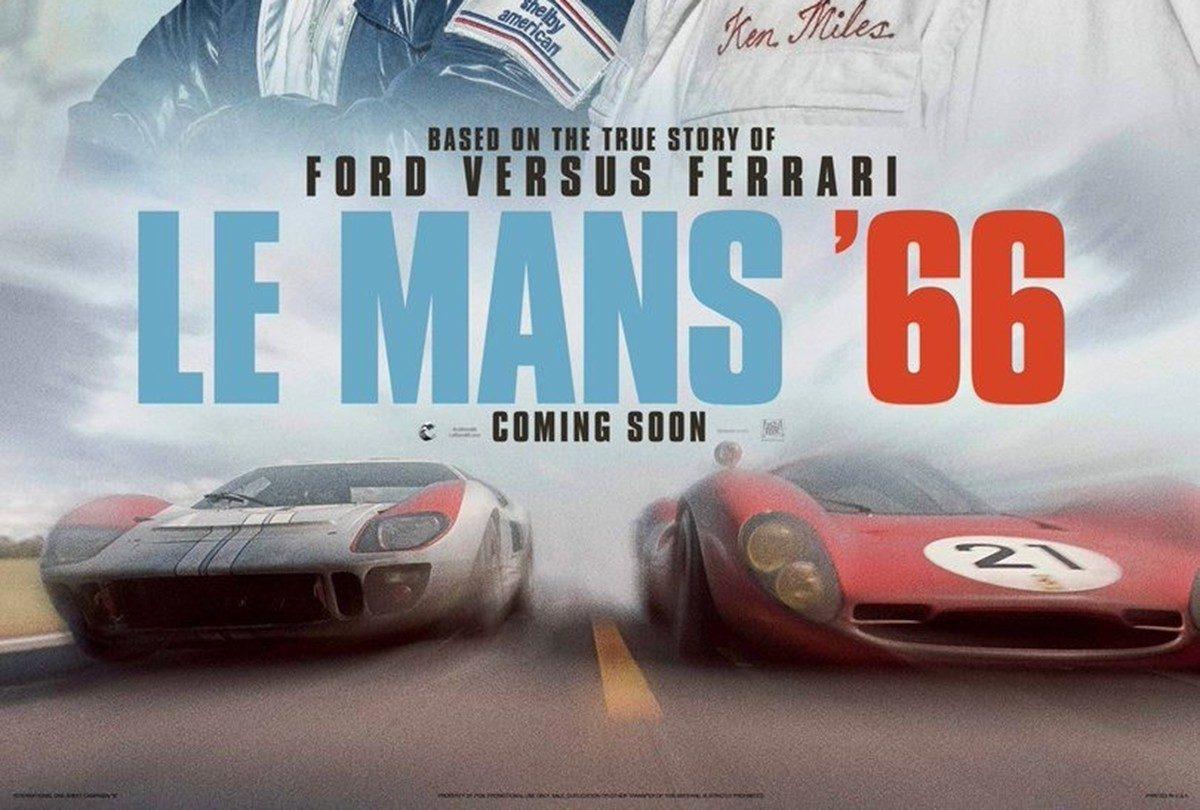 El trailer final de Le Mans '66 promete gasolina y adrenalina a partes iguales