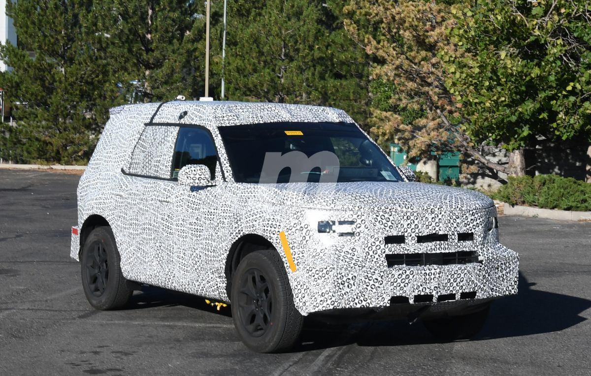 """El interior del Ford """"Baby Bronco"""" al descubierto"""